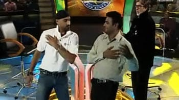 Videos : हरभजन ने जीता बिग बी का दिल