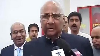 Video : I thought he was a journalist: Sharad Pawar to NDTV