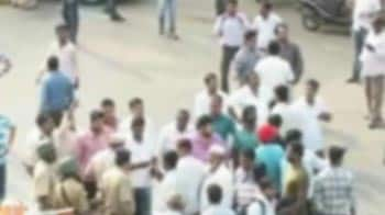Video : Sharad Pawar slapped: NCP workers hold protests in Maharashtra