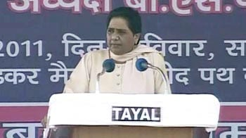 Video : Mayawati hits out, says Rahul Gandhi is scared of BSP