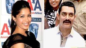 Video : Freida's love life, Aamir to join hands with Rajini