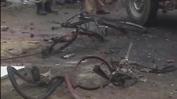 Video : Bomb explodes in crowded market in Imphal