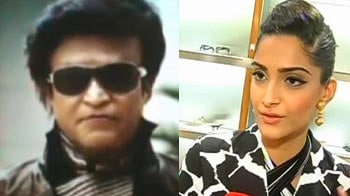 Video : Rajinikanth excited about <i>Kolaveri</i> cameo and Sonam about Tom Cruise