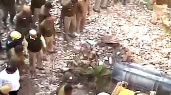 Video : Building collapses in west Delhi, four killed
