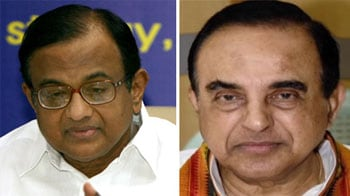 Video : 2G scam: Order on Swamy's plea against Chidambaram today