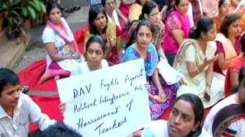 Video : Schools join hands to fight Sena violence