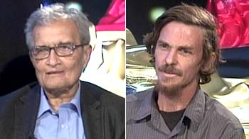 Video : Your Call with Amartya Sen and Jean Derez