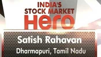 Video : Satish Rahavan wins stock market hero contest