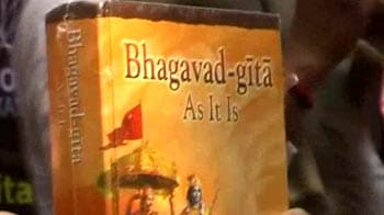 Video : MPs ask govt to intervene as Russian court considers ban on <i>Bhagavad Gita</i>