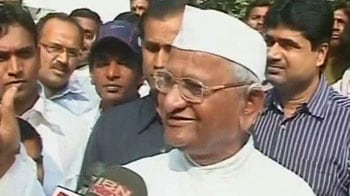 Video : Anna's Mumbai venue is MMRDA Ground, he asks for donations