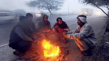 Video : Relentless cold wave continues across north India