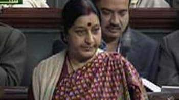Video : Lokpal war: Bring better bill in 3 months, says Sushma