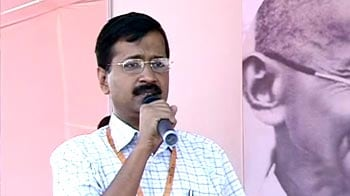 Video : Govt made promises to Anna, then betrayed him: Kejriwal