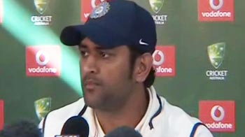 Video : Taking 20 wickets a positive despite defeat: Dhoni