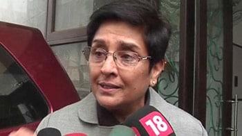 Video : Government didn't do homework: Kiran Bedi