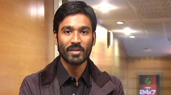 Video : Actor Dhanush all praise for NDTV Marks For Sports