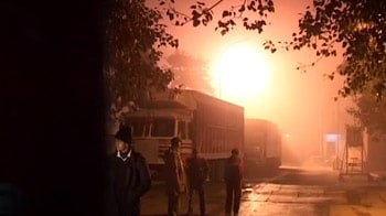 Video : Major fire at Delhi airport's cargo terminal