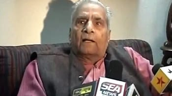 Video : Team Anna's Shanti Bhushan found guilty of evading 1.3 crores of property taxes