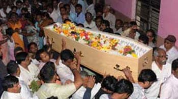 Video : Pune bids tearful adieu to Anuj Bidve