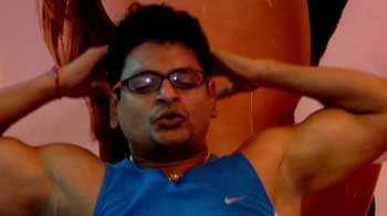 Video : Sweating it out for the Mumbai Marathon