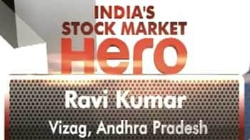 Video : Ravi Kumar from Vizag, Andhra Pradesh wins stock market contest