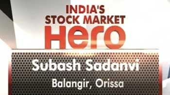 Video : Subash Sadanvi from Orissa wins India's stock market hero contest
