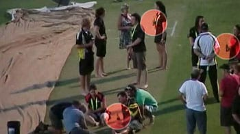 Video : India vs Australia: Booze party on WACA pitch!