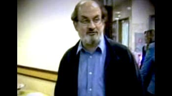 Video : Rushdie's visit a security concern?