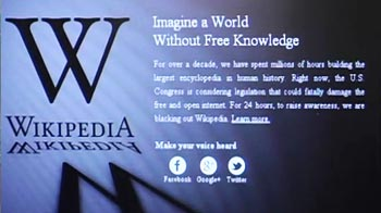 Video : India's day without Wikipedia
