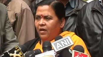 Video : If India can accept Sonia from Italy, I can make it in UP: Uma Bharti