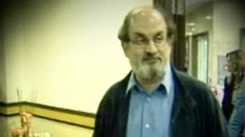 Video : Rushdie skips Jaipur; Satanic Verses reading as form of protest is cancelled
