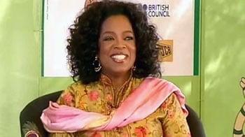 "Video : ""My life has been a Taj Mahal"": NDTV's Oprah exclusive"