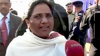 Video : CBI pressure on state health scam a political conspiracy: Mayawati