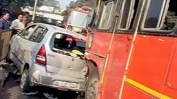 Video : पुणे में सड़क पर दौड़ी मौत!