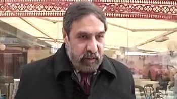 Video : Have assured global retail giants on FDI: Anand Sharma at WEF 2012