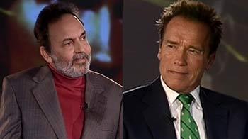 Video : India Questions Arnold Schwarzenegger