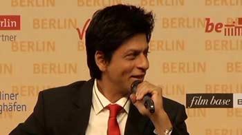 Video : Berlin's bond with SRK