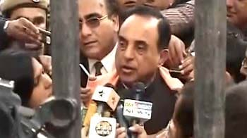 Video : 2G case: I am surprised, says Swamy after court's reprieve to Chidambaram