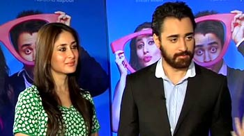 Video : Imran, Kareena talk about big fat Bollywood weddings
