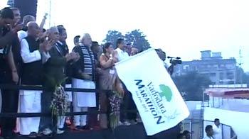 Video : Narendra Modi kicks off NDTV's Marks For Sports Finale