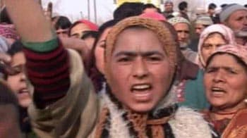 Video : J&K: Protest over man's death in Army firing