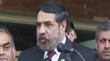 Video : Commerce Minister Anand Sharma in Pakistan to boost trade ties
