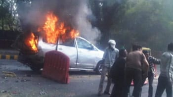 Video : Israel embassy car blast sparks war of words