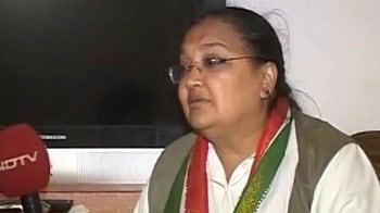Video : Khurshid's wife defends him over minority quota remark