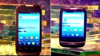 Video : Huawei Ideos vs Huawei Sonic
