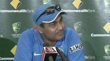 """Have you seen my catch?"" snaps Sehwag after Dhoni's comments"