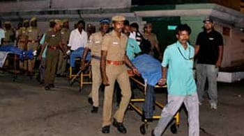 Video : Chennai: 5 'bank robbers' killed in encounter; Rs. 14 lakh recovered