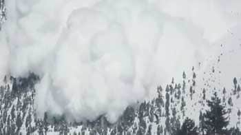 Video : Caught on camera: Moments before the Gurez avalanche