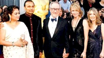 Anil Ambani walks Oscar red carpet