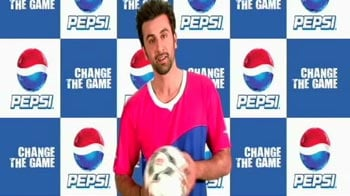 Ranbir Kapoor is a football fan